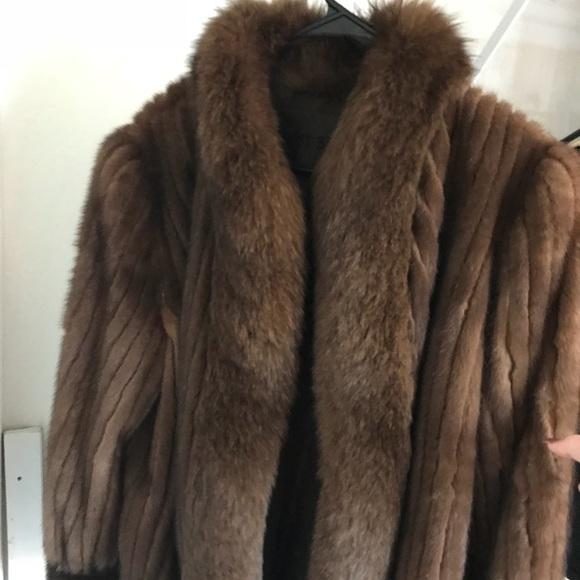 Mink Coat Value >> Vintage Frost Bros Chinchilla Mink Fur Coat